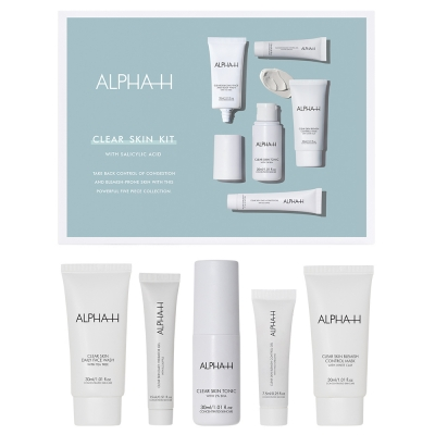 Alpha-H - Clear Skin Kit (Set Van 5)