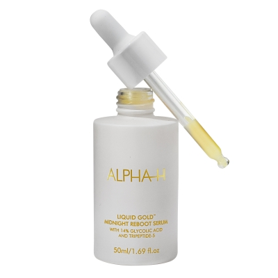 Alpha-H - Liquid Gold Midnight Reboot Serum 50ml