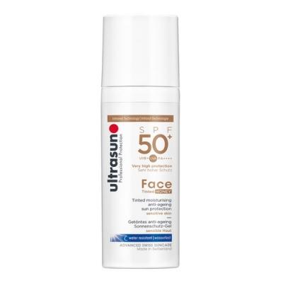 Ultrasun - Anti-Age Face Tinted Honey SPF50+ 50ml