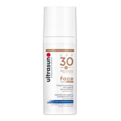 Ultrasun - Anti-Age Face Tinted Honey SPF30 50ml