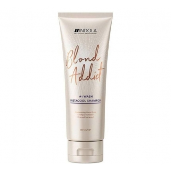 Indola Innova Blond Addict InstaCool Shampoo 250ml