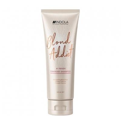 Indola Innova Blond Addict Pink Rose Shampoo 250ml